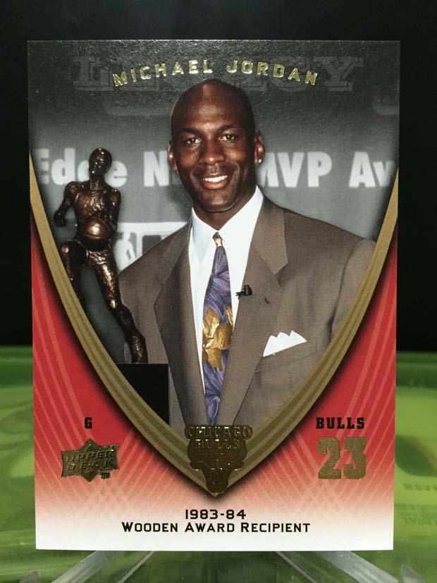 Michael Jordan Legacy Card - 2009/10 Upper Deck Basketball (Card# 1125)