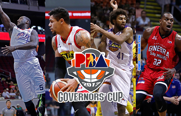 2017 PBA Governors' Cup Semi-Finals Schedule