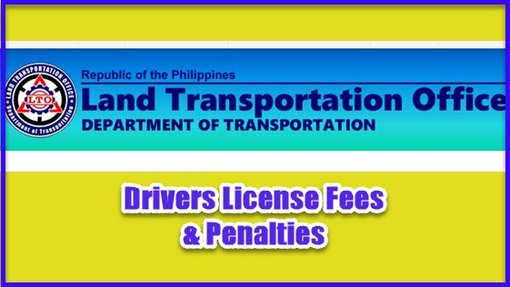 lto penalty driving with expired drivers license
