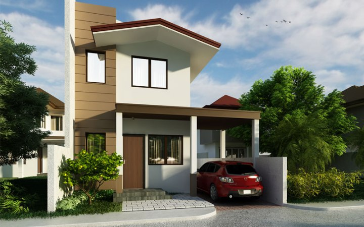 Small two storey house PHD 2015009   Pinoy House Designs