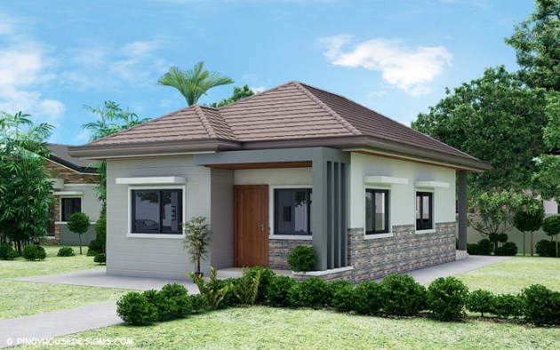 Simple 3 Bedroom Bungalow House Design   Pinoy House Designs   Pinoy     Simple 3 Bedroom Bungalow House Design   Pinoy House Designs   Pinoy House  Designs