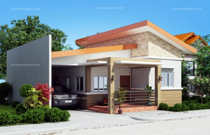 One Story Simple House Design