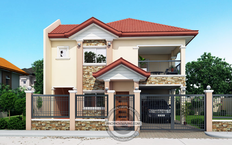 Contemporary House Plans Featuring Florante