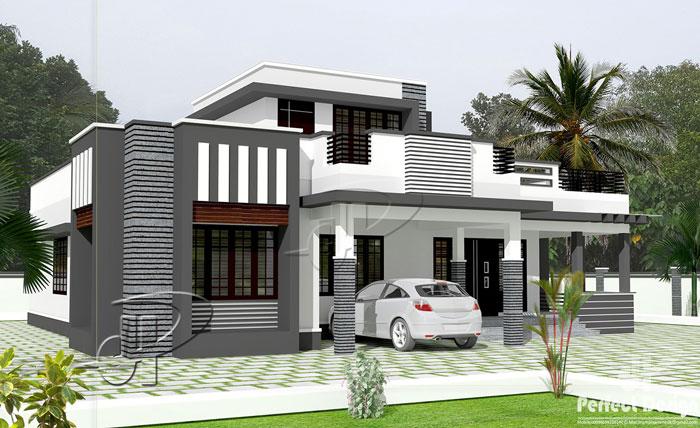 Three Bedroom Minimalist House Plan