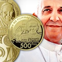 BSP releases commemorative coins for Pope Francis visit