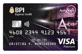 BPI Amore Visa Platinum - multiple-entry visa for 3-5 years