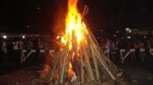 Ateneo bonfire