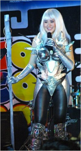 Sarah Geronimo in Cosplay Outfit