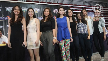 Courtside Reporters for UAAP Season 75