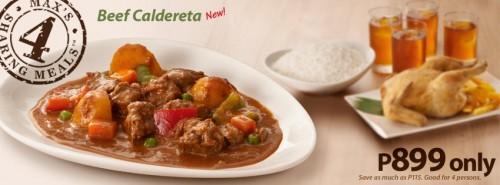 Max's 4Share Meals: Caldereta Version
