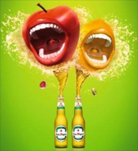 SMB Flavored Beer flavors: Apple & Lemon