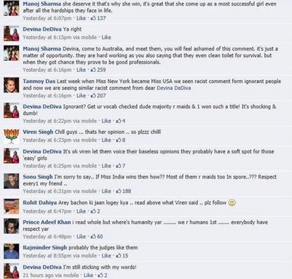Devina DeDiva Racist Comments