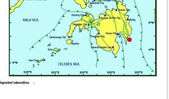 6.0 Magnitude Earthquake felt in Southern Mindanao