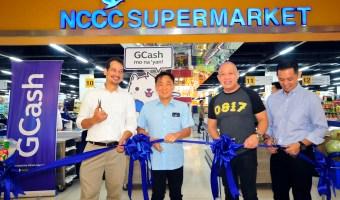 NCCC Mall Supermarket goes cashless with GCash