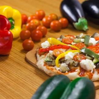 pinsa-vegetariana
