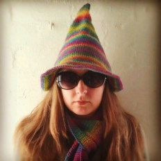 Rainbow Awesomeness Hat and Scarf