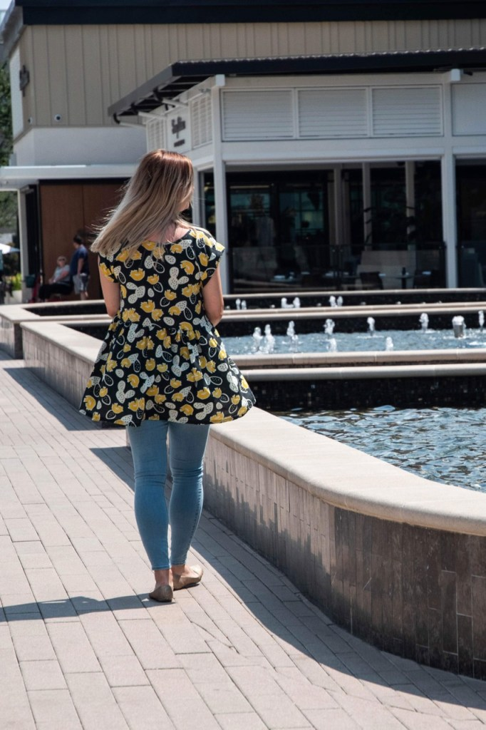 sewing the Summer Day Peplum