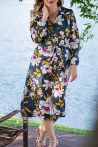 sewing the Orchid Midi Dress