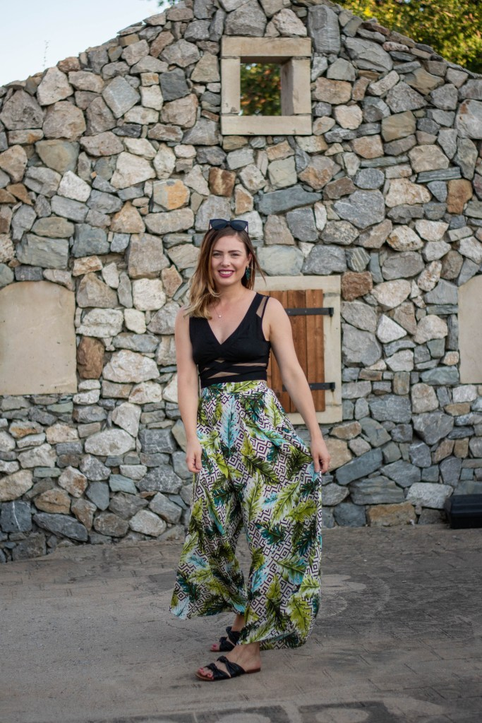 sewing the Winslow Culottes