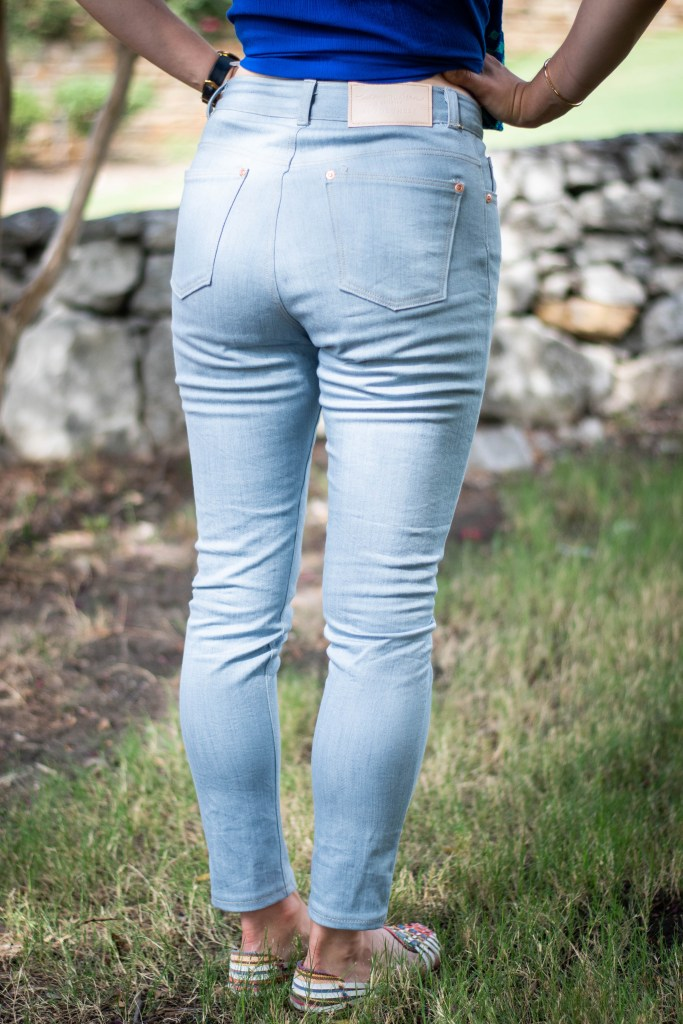 sewing the Ash Jeans