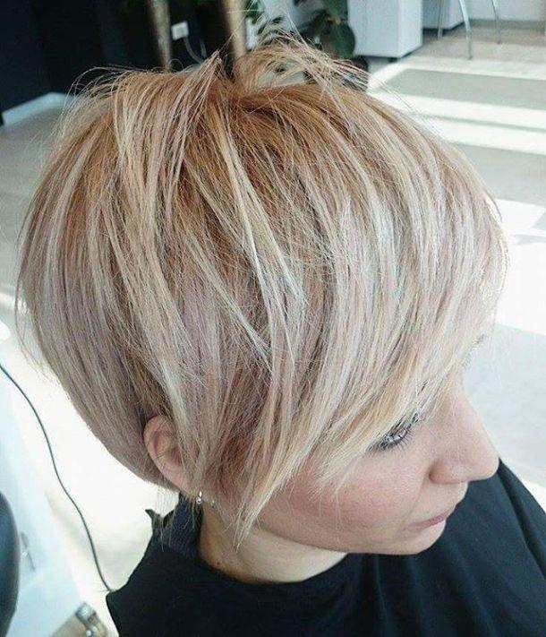 Beautiful work blonde hairstyle hairdresser