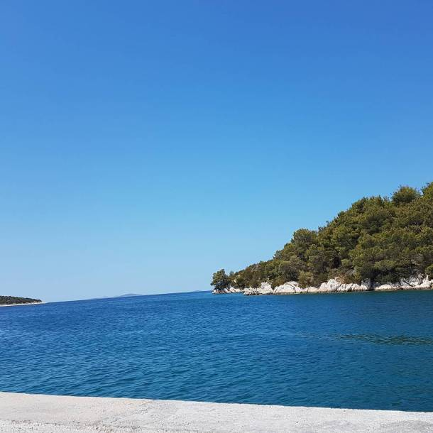 Cold and clean water  sovje beach croatia
