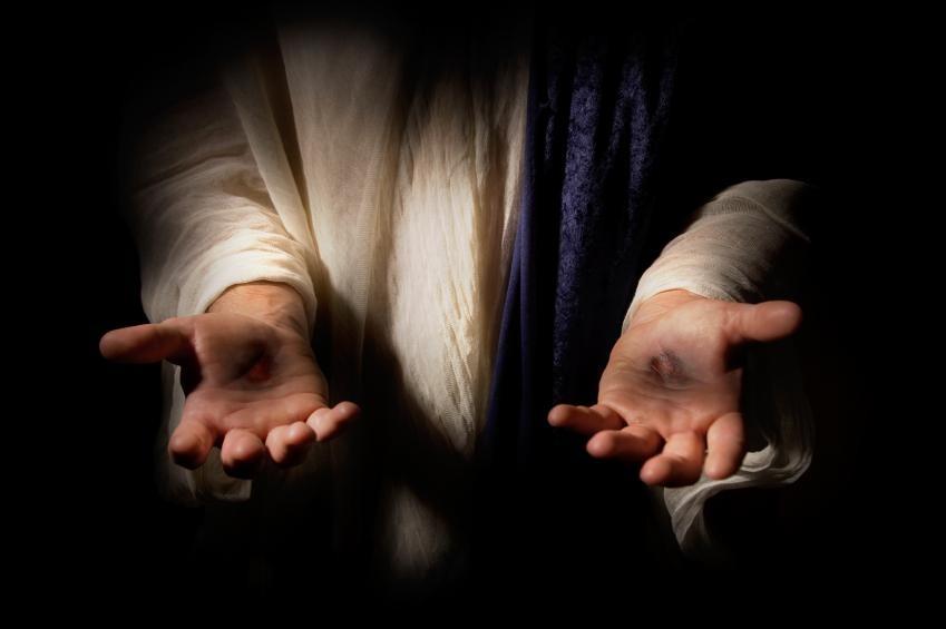 Image result for jesus hands