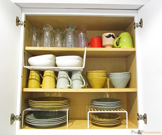 kitchen organization: solutions for small kitchens - pins and