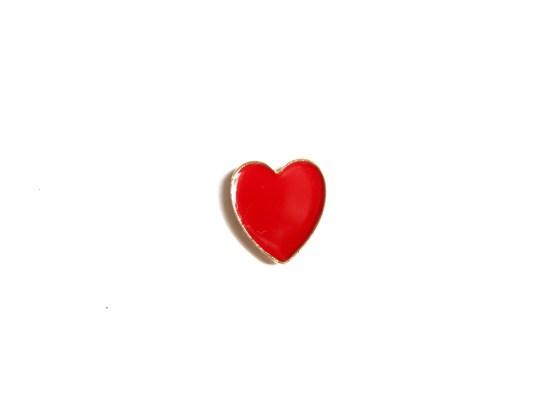 pin's coeur rouge