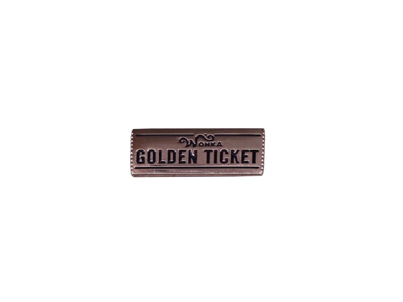 pin's wonka golden ticket