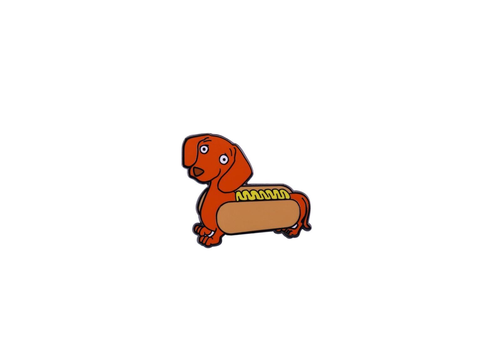 pin's hot dog