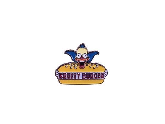 pin's simpson krusty burger