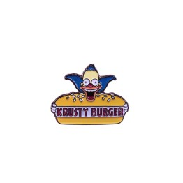 pin's simpson krusty burger