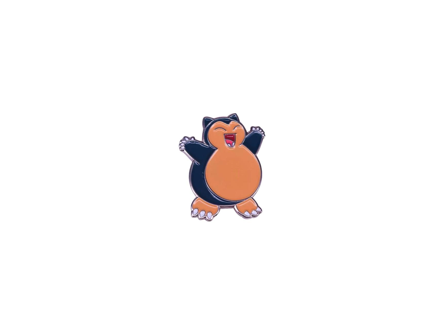 pin's pokémon ronflex