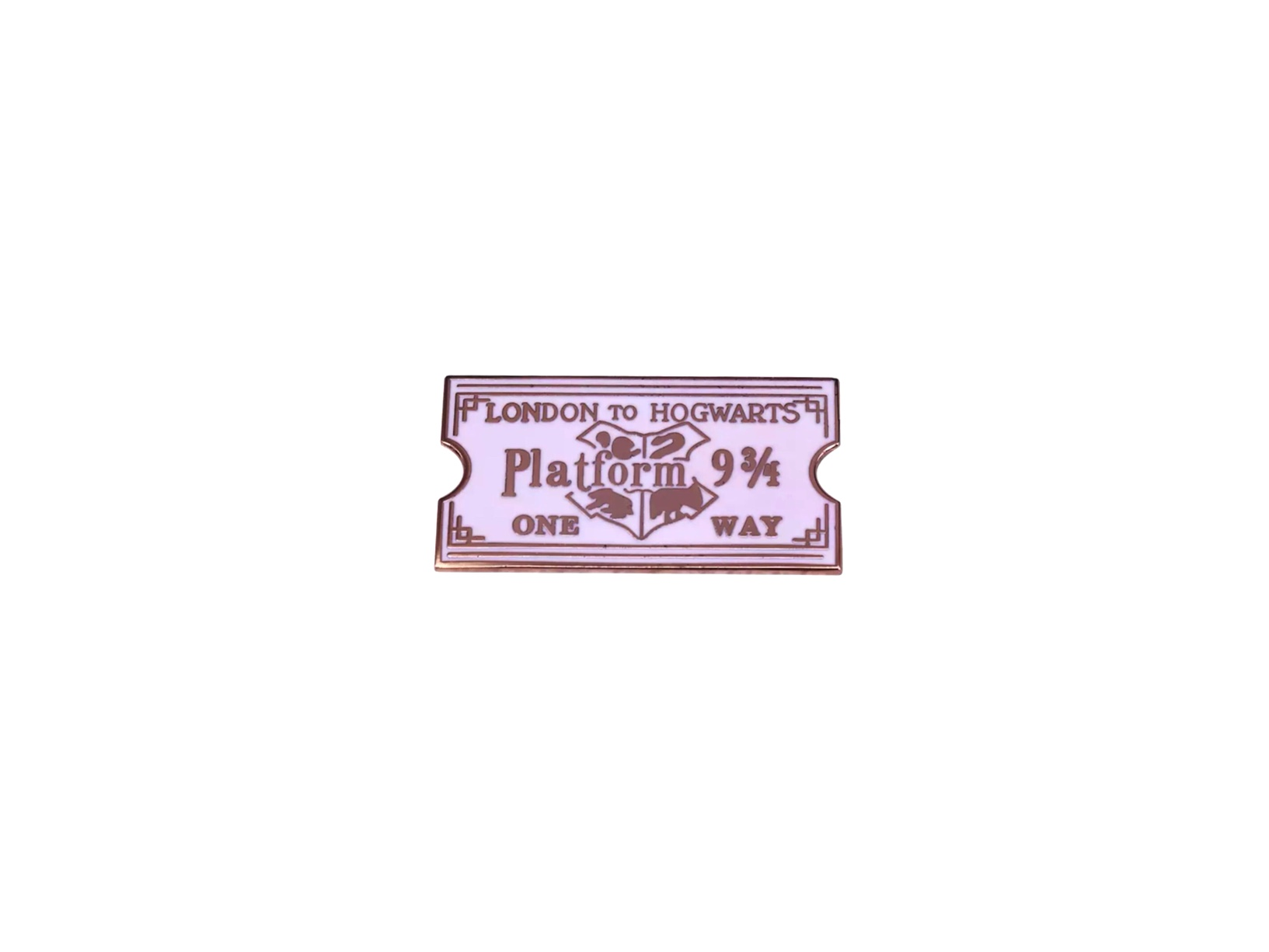 pin's harry potter ticket