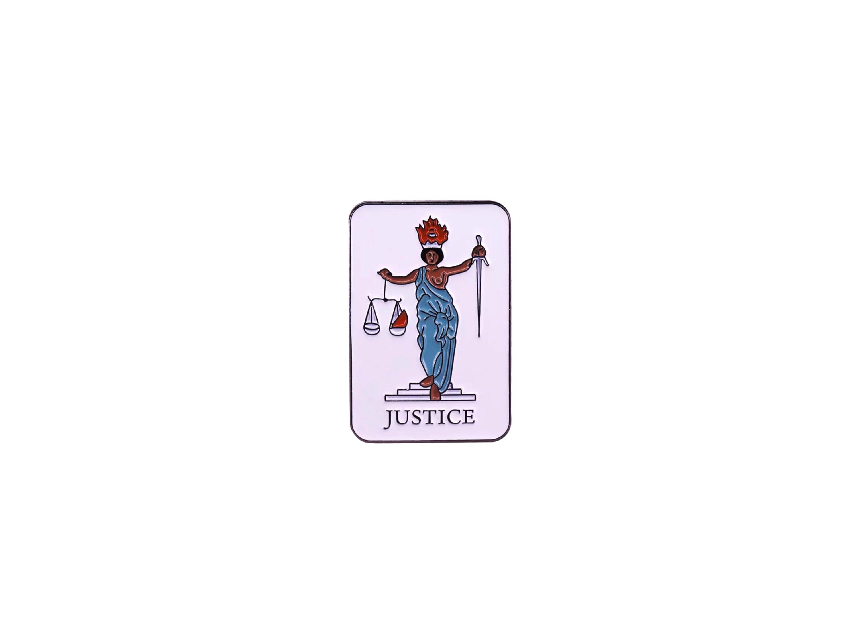 pin's tarot justice