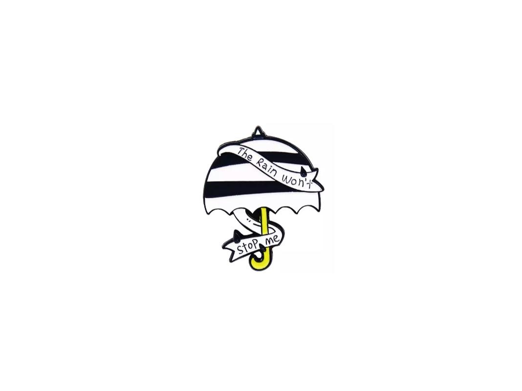 pin's parapluie