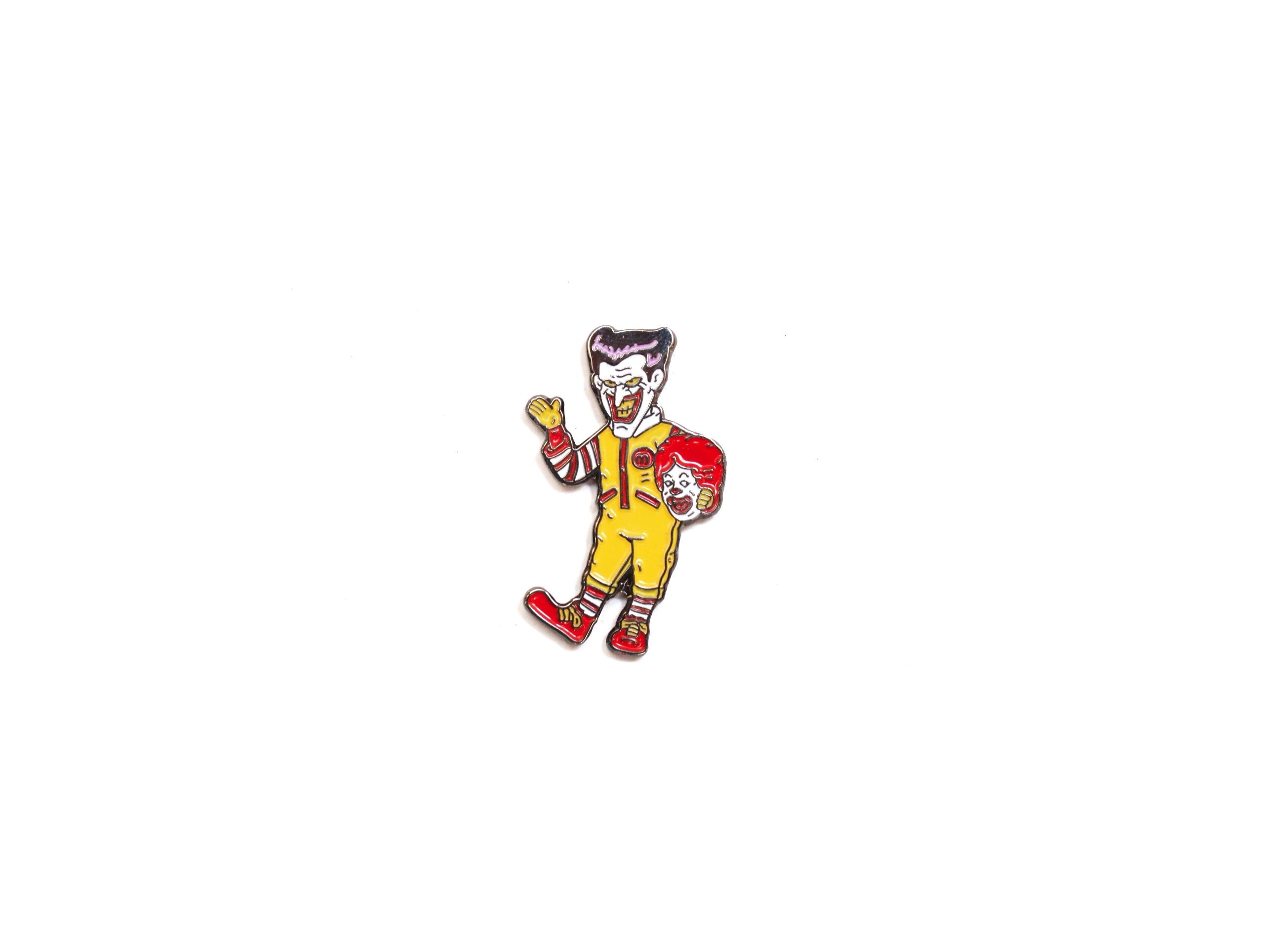 pin's Joker McDonald's