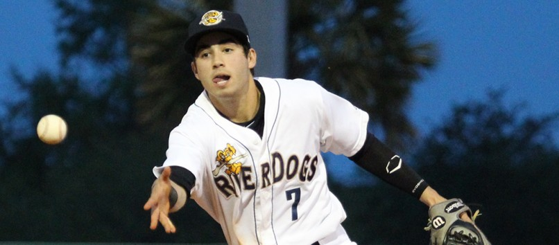 Tyler Wade File Photo (Charleston RiverDogs)