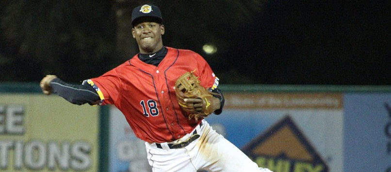 Abiatal Avelino File Photo (Charleston RiverDogs)