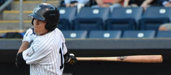 Ty McFarland helped the T-Yanks beat the Brevard County Manatees on Sunday afternoon. (Robert M Pimpsner)