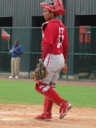 Francisco Diaz with the GCL Phillies in 2010 (Bryan Green)