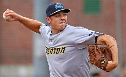 Will Carter will pitch Game 2 for Trenton on Thursday night. (Photo by Martin Griff)