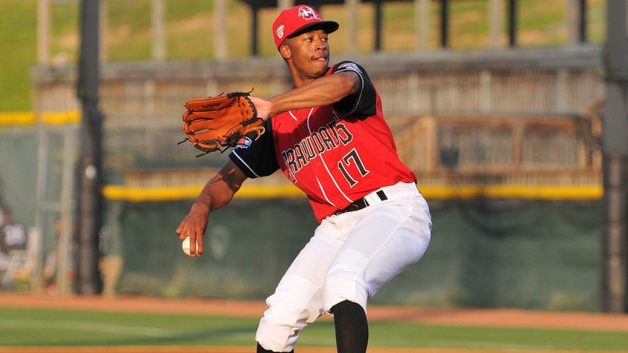 Dillon Tate (Tracy Proffitt/Hickory Crawdads)