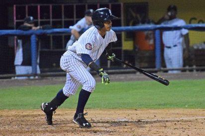 Thairo Estrada led the Yankees with 3 base hits (Robert M Pimpsner)