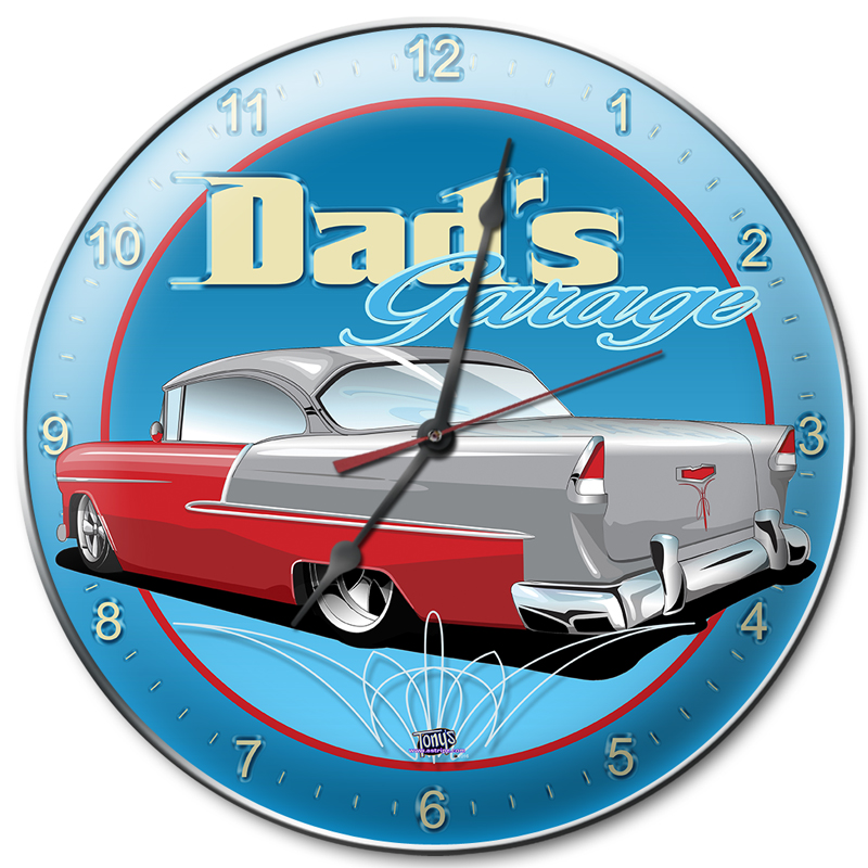 55chevy clock
