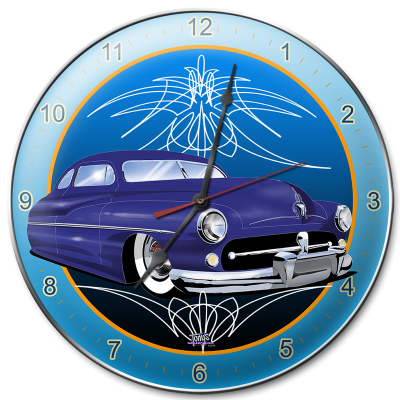 2 PIN MERCURY Clock