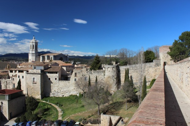 Muralla, Força Vella i Catedral de Girona