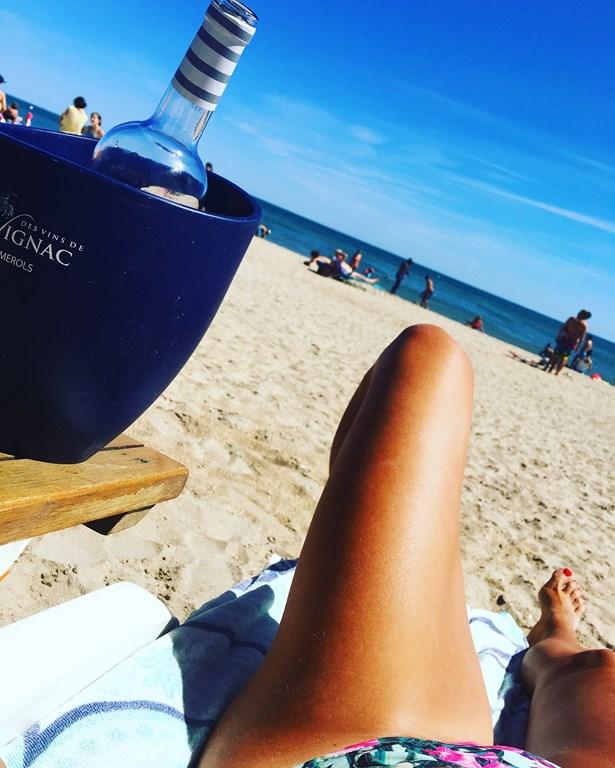 ACD face à la mer // plage privée sans chichi à Sète
