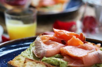 Avocado toast brunch au Prose